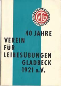 Festzeitschrift 40 Jahre Cover