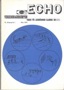 VfL-Echo März 1969 Cover