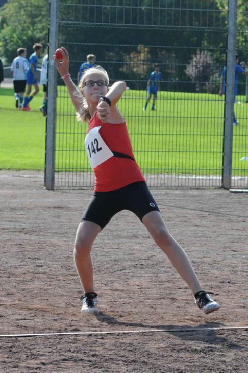 Emily Klein am Ball