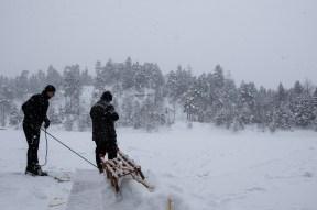 Schnee, Schnee, Schnee am letzten Tag!