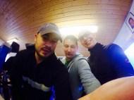 Micha, Dirk (FTM) und Benni