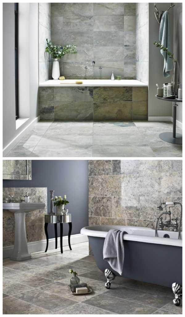 керамогранит в ванную комнату дизайн фото 5