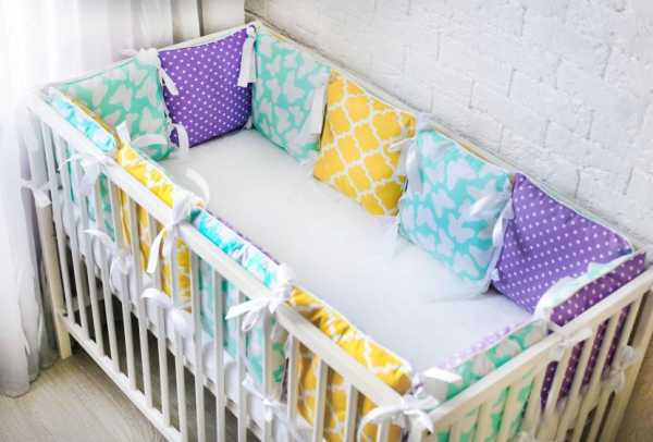 Подушки бортики в кроватку размеры – Бортики для ...