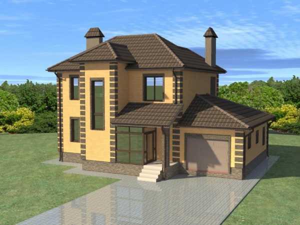 Проект дома двухэтажный – Проекты двухэтажных домов и ...