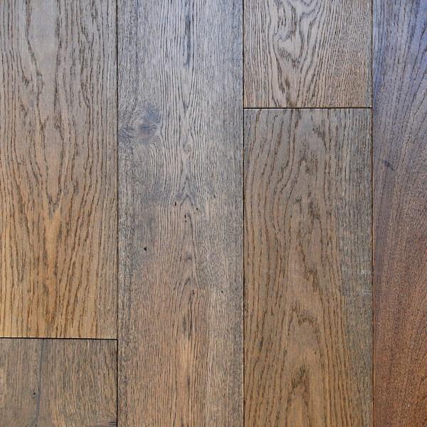 "D & M Flooring, American Vintage Collection 7/16 "" x 6 1/4 "" RL Hardwood Flooring European White Oak in Smooth Auburn Color-0"