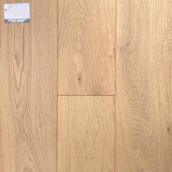 "Hennessy Wood Floors, French Oak 3/4 "" x 9"" x 6' RL Hardwood Flooring in Catari Color"