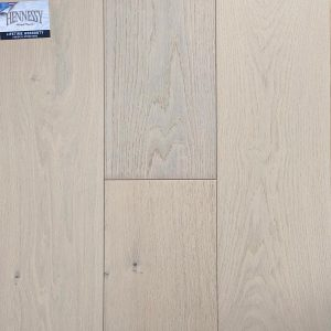 "Hennessy Wood Floors, French Oak 3/4 "" x 9"" x 6' RL Hardwood Flooring in Perla Color"
