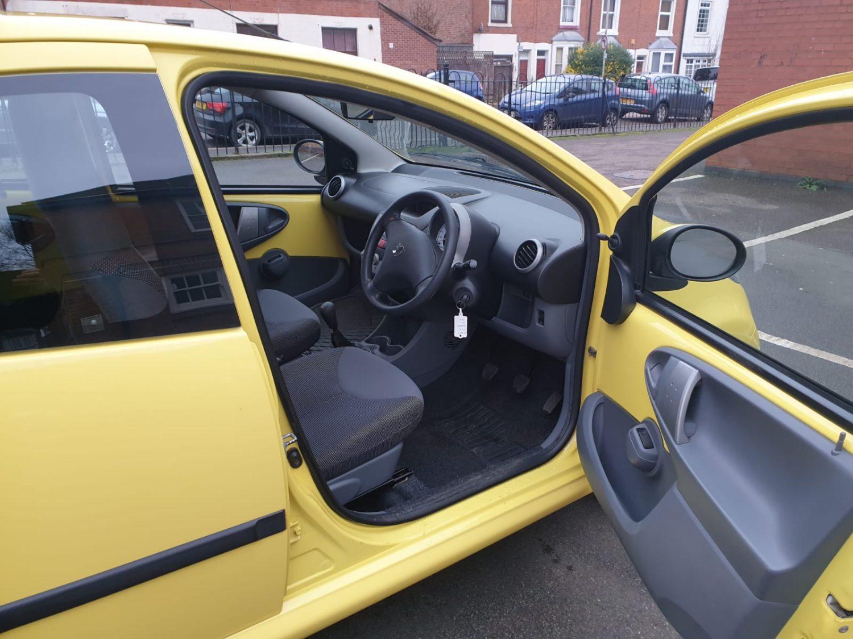 Peugeot 107 For Sale - Interior