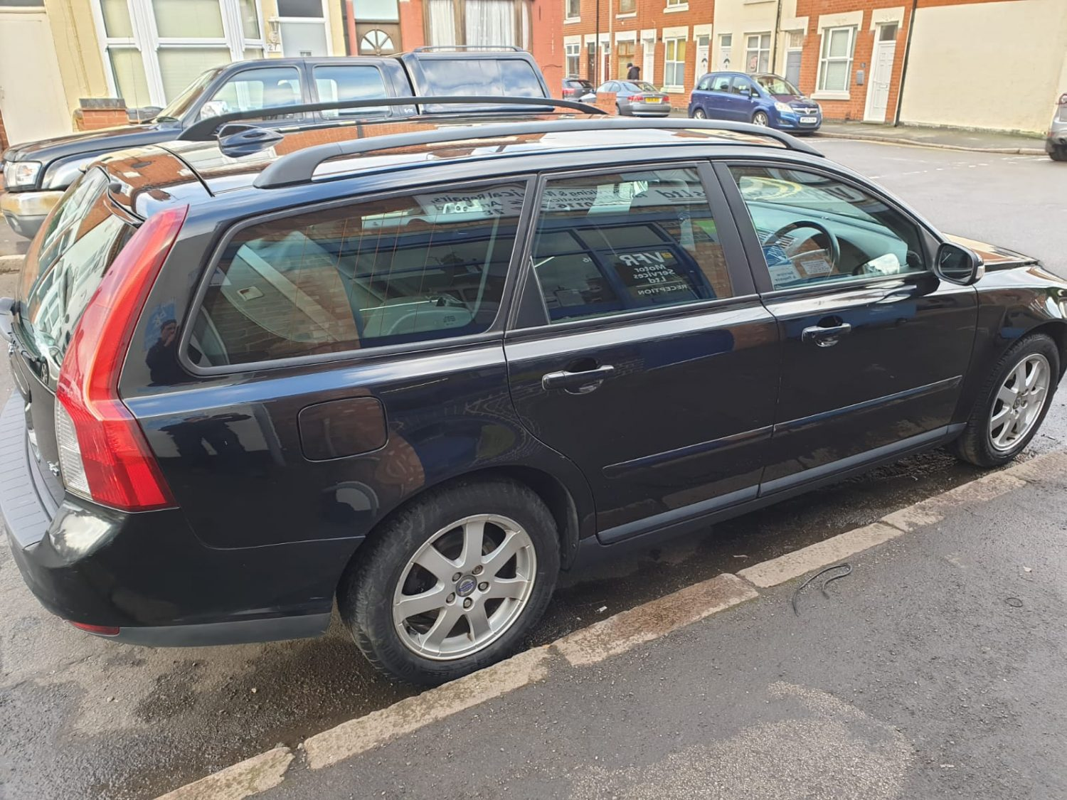 For Sale: 2008 Volvo Estate - Side View