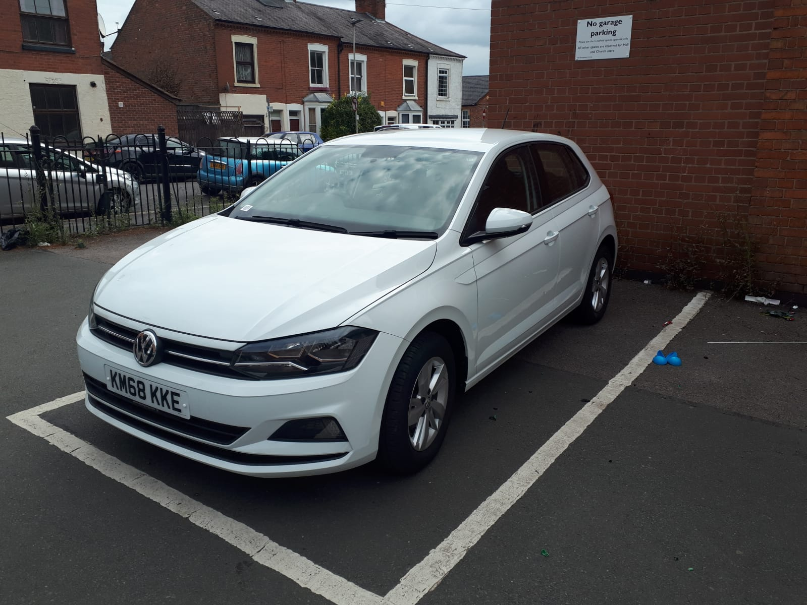White 2018 VW Polo For Sale - front