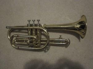 King Cleveland Cornet- My First Horn