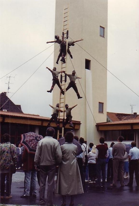 Vigili del Fuoco Sansepolcro scala italiana