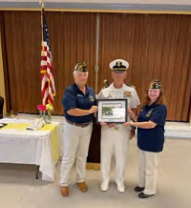 Annual Awards Banquet for the Sea Cadets.