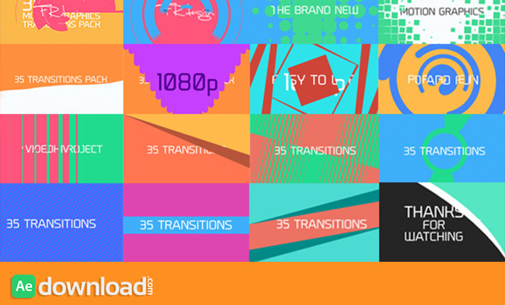 35 COOL MOTION GRAPHICS TRANSITIONS (VIDEOHIVE) Dropbox ...