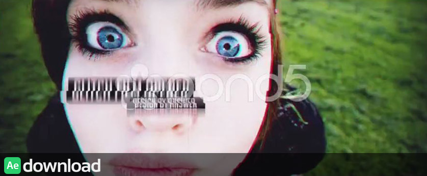 GLITCH FILM OPENER - AFTER EFFECTS TEMPLATES (POND5)