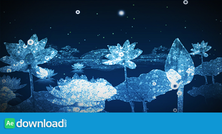WATER FLOWERS - MOTION GRAPHIC (VIDEOHIVE) - Free After ...
