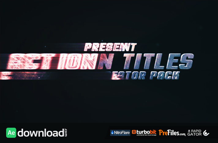 Action Titles Trailer Creator Free Download After Effects Templates