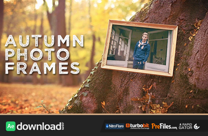Autumn Photo Frames Free Download After Effects Templates