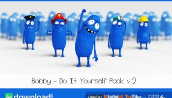 Bobby promotes 2 after effects templates videohive free bobby character animation diy pack videohive template free download pronofoot35fo Gallery