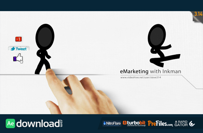 E-Marketing with Inkman Free Download After Effects Templates