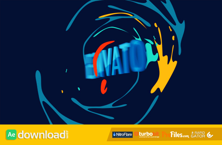 Funky Groove logo 2 Free Download After Effects Templates