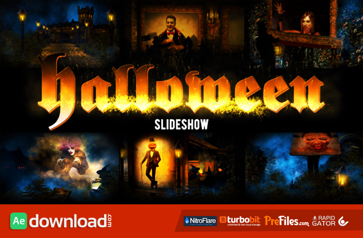 Halloween Free Download After Effects Templates