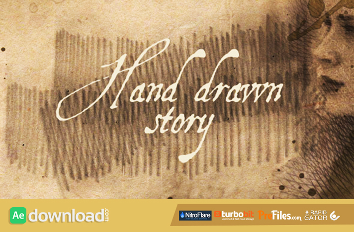 Hand Drawn Story Free Download After Effects Templates
