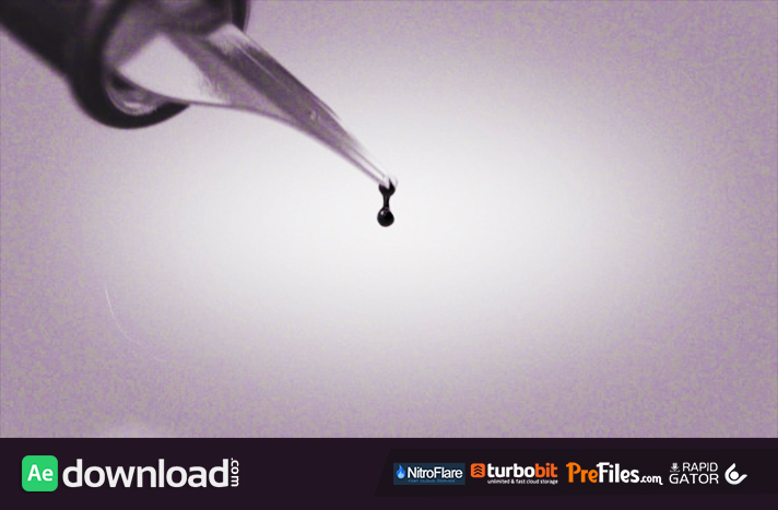 Ink slides Free Download After Effects Templates