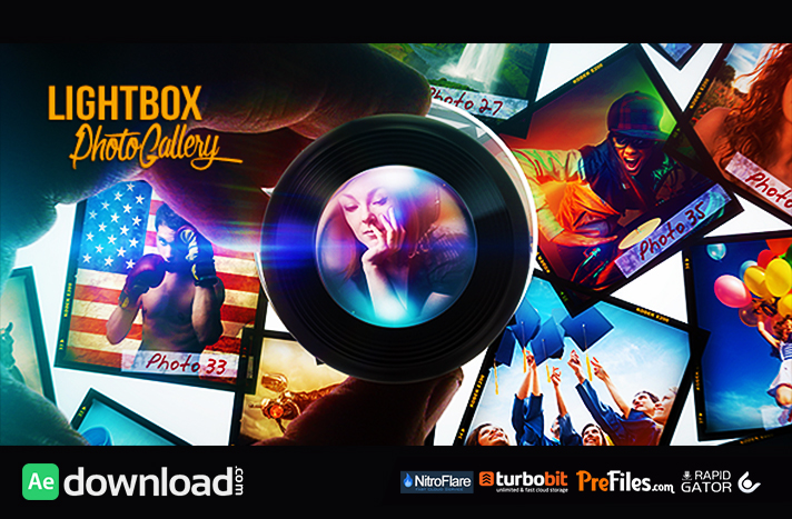 Lightbox Photo Gallery Free Download After Effects Templates