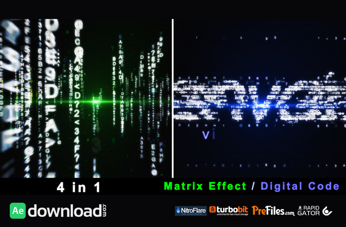 Particle Effect 4 (Digital Code and Matrix) Free Download After Effects Templates