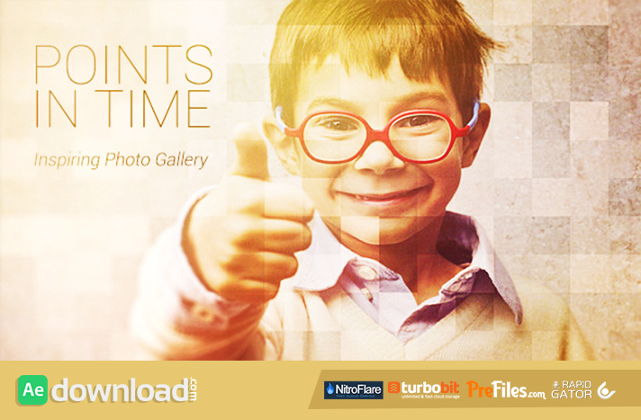 Points In Time - Inspirational Photo Gallery Free Download After Effects Templates