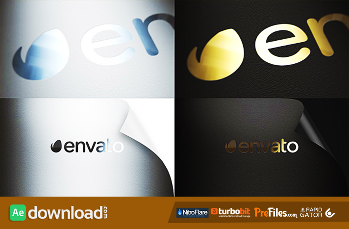 REALISTIC LOGO Free Download After Effects Templates