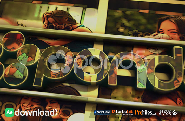 SLIDESHOW 3D LOGO Free Download After Effects Templates