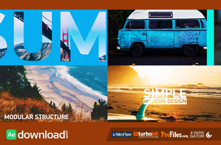 Sliding Slideshow Free Download After Effects Templates