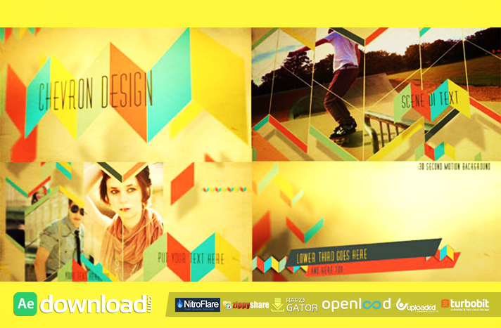 Chevron Design free download (videohive template)