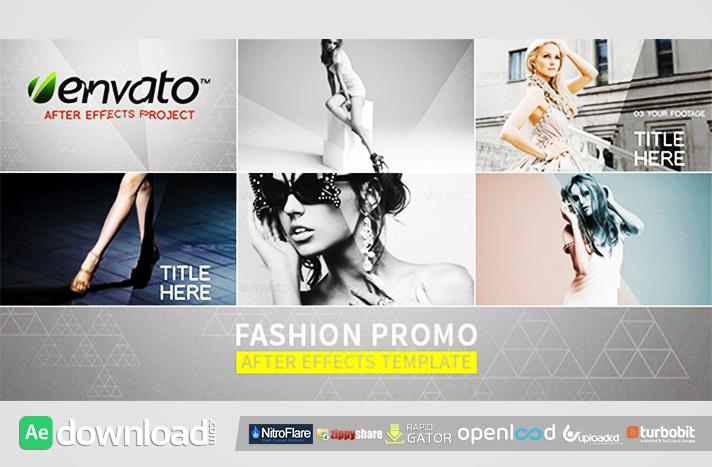 Fashion Promo free download (videohive template)