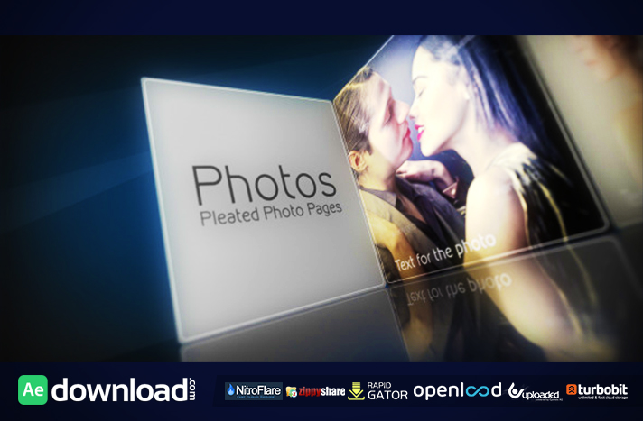 Pleated Photo Pages