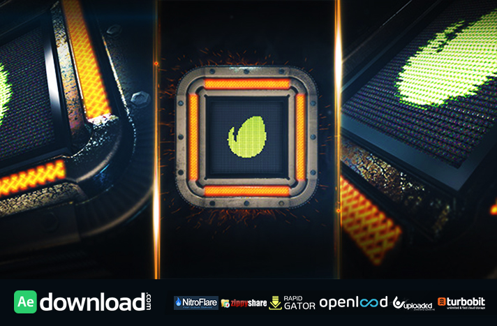 Square Tech Logo free download (videohive template)