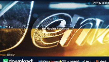 3D METALLIC LOGO VIDEOHIVE TEMPLATE FREE DOWNLOAD - Free