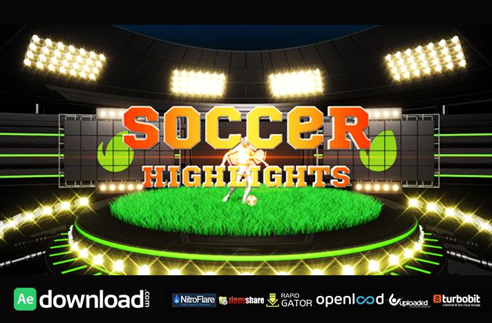 Soccer Highlights Ident Broadcast Pack