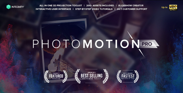 Photomotion Professional 3d Photo Animator Videohive Free After Effects Templates Official Site Videohive Projects