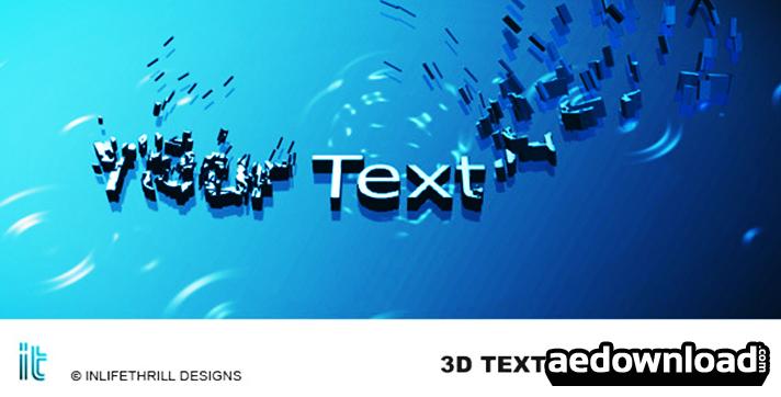 3D-Text Evolutions
