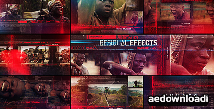 Residual Effects - Movie Opening Titles
