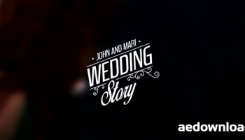 wedding titles vol 3 after effects template motion array