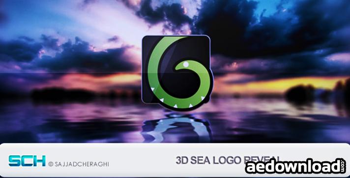 3D Sea Logo Reveal
