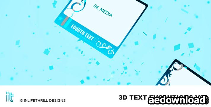3D-Text Evolutions V2