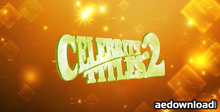 Celebrity Titles 2