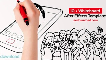 videohive auto whiteboard free download free after effects