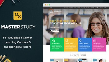 Masterstudy v1 4 1 – Education Center WordPress Theme Free Download