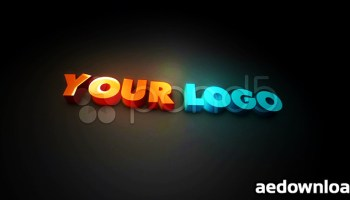 3D Stroke Logo Free After Effects - Free After Effects Template
